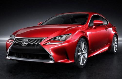 Lexus RC Coupe thêm màu đỏ tươi - 1