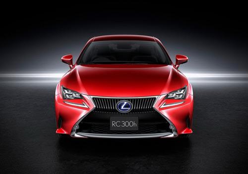 Lexus RC Coupe thêm màu đỏ tươi - 2