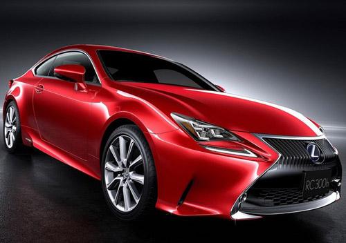 Lexus RC Coupe thêm màu đỏ tươi - 3