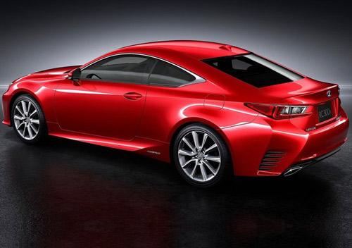 Lexus RC Coupe thêm màu đỏ tươi - 4