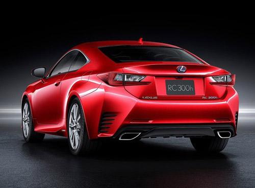 Lexus RC Coupe thêm màu đỏ tươi - 5