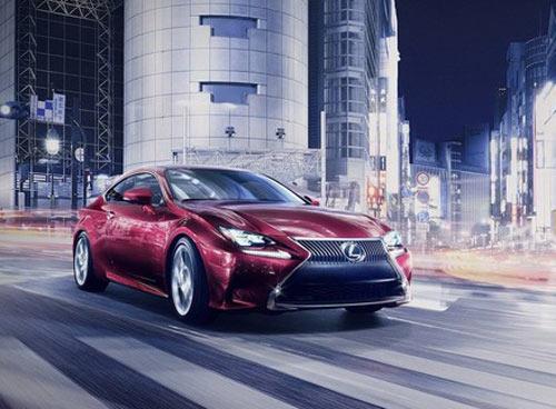 Lexus RC Coupe thêm màu đỏ tươi - 6