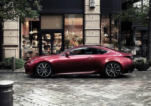 Lexus RC Coupe thêm màu đỏ tươi - 7