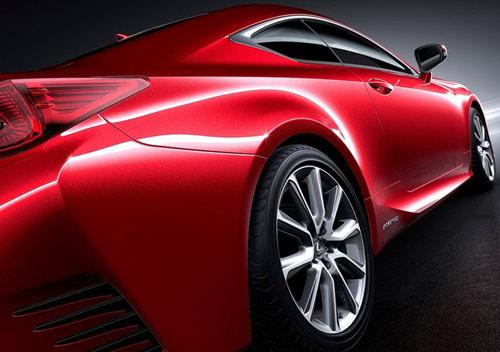 Lexus RC Coupe thêm màu đỏ tươi - 8