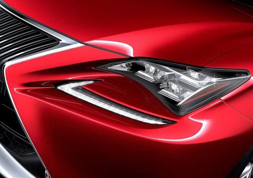 Lexus RC Coupe thêm màu đỏ tươi - 9