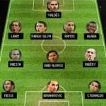 Bóng đá - ĐHTB thế giới: Tam tấu Messi-Ibra-Ronaldo