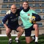 Bóng đá - Valdes trở lại, Messi hẹn ngày tái xuất