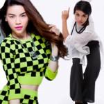Hà Hồ, Trần Ly Ly so tài vũ đạo