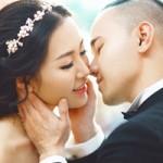Thời trang - Ảnh cưới tuyệt đẹp của á hậu Thùy Trang