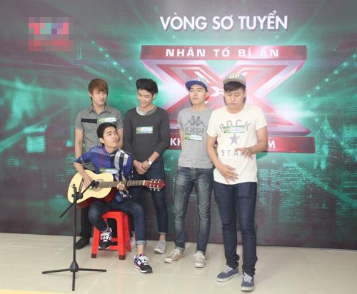 Hương Hồ gây phấn khích cho thí sinh X-Factor Việt - 6