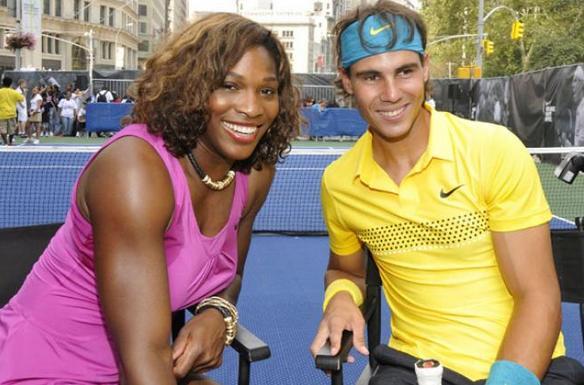 Top 10 tay vợt giàu nhất: Nadal thua xa chị em nhà Williams - 1
