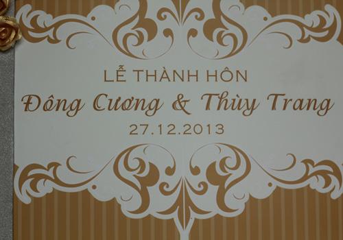 Chồng á hậu Thùy Trang đẹp như... Kim Tan! - 1