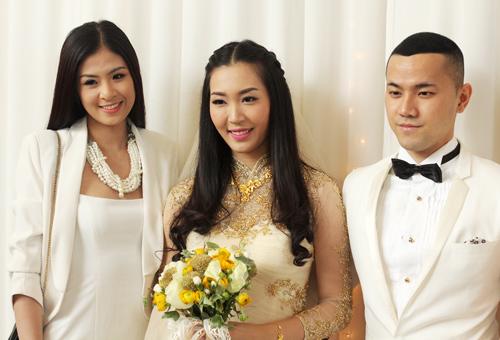 Chồng á hậu Thùy Trang đẹp như... Kim Tan! - 10