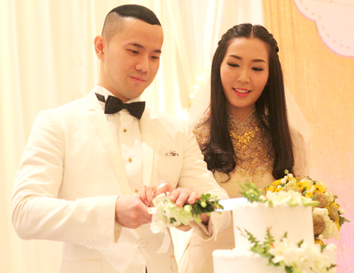 Chồng á hậu Thùy Trang đẹp như... Kim Tan! - 14
