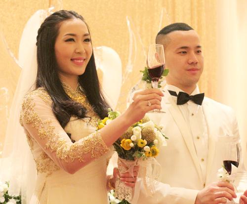 Chồng á hậu Thùy Trang đẹp như... Kim Tan! - 17