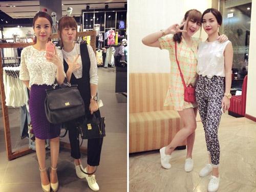 """Street style """"chuẩn"""" của Yến Trang, Yến Nhi - 10"""