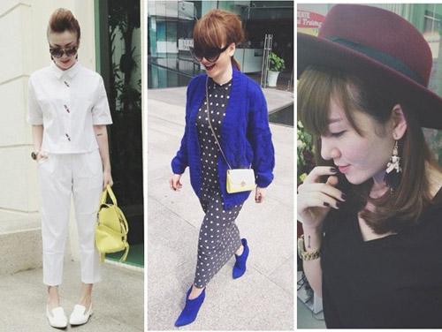 """Street style """"chuẩn"""" của Yến Trang, Yến Nhi - 13"""