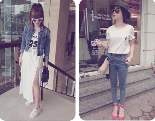 """Street style """"chuẩn"""" của Yến Trang, Yến Nhi - 14"""