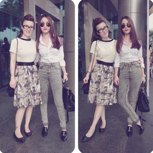 """Street style """"chuẩn"""" của Yến Trang, Yến Nhi - 5"""