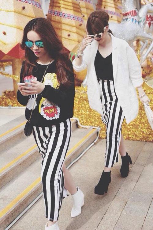 """Street style """"chuẩn"""" của Yến Trang, Yến Nhi - 8"""