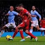 """Bóng đá - Liverpool """"làm xiếc"""" trước khung thành Man City"""