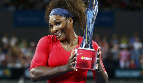 Giải Brisbane: Federer & Serena mở hàng - 2