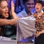Ca nhạc - MTV - Sợ rắn, Thu Minh bỏ chạy khỏi ghế nóng