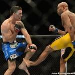 Thể thao - UFC 168: Chân gãy đôi sau đòn phang ống
