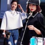 Thời trang - Những cô gái Hàn sành điệu ngày cuối năm