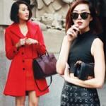 Thời trang - Tín đồ Hàn không hở hang vẫn nổi bật
