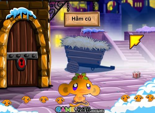 Game hay: Chú khỉ buồn giáng sinh - 1