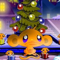 Game hay: Chú khỉ buồn giáng sinh