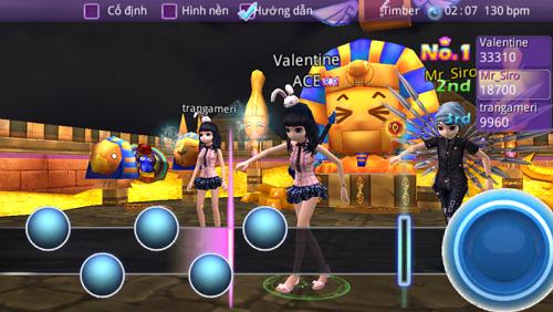 Miễn phí tải game Audition phiên bản Mobile - 4