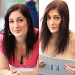 Bạn trẻ - Cuộc sống - Nữ nghệ sỹ xinh đẹp dùng ngực vẽ tranh
