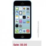 Thời trang Hi-tech - iPhone 5C được biếu không tại Mỹ