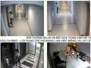 """Gái trẻ liều lĩnh """"đột nhập"""" chung cư trộm cắp"""