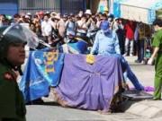 TPHCM: Lộ diện nghi can giết người, chặt xác