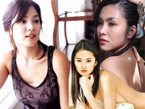 Đường cong ngọt ngào của 3 ngọc nữ Việt-Hoa-Hàn