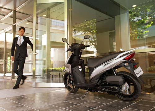 Suzuki công bố xe tay ga phổ thông Adress - 7