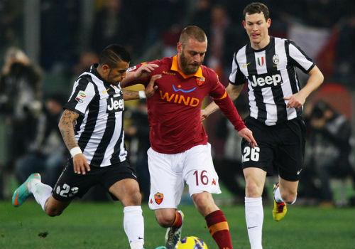 Đại chiến Roma - Juventus: Sự cân bằng giữa 2 phong cách - 1