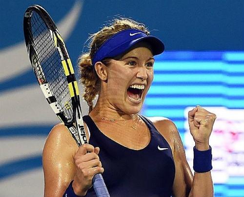 Tin hot kiều nữ tennis: Người đẹp Bouchard quá vui - 1