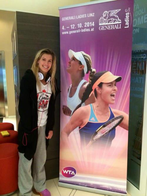 Tin hot kiều nữ tennis: Người đẹp Bouchard quá vui - 3