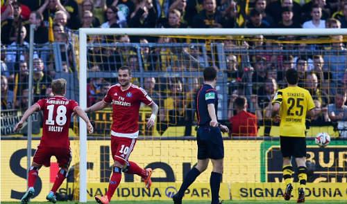 Dortmund – Hamburg: Cái tát đau đớn - 1