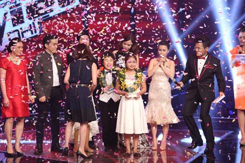Cô bé Bình Định đăng quang The Voice Kids - 1