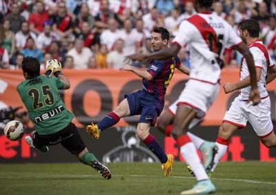 TRỰC TIẾP Vallecano - Barca: 2 bàn thắng và 2 thẻ đỏ (KT) - 3