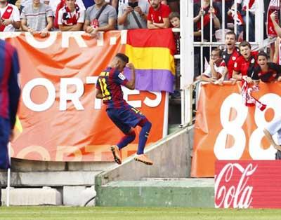 TRỰC TIẾP Vallecano - Barca: 2 bàn thắng và 2 thẻ đỏ (KT) - 4