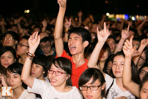 Giới trẻ Hà thành cuồng nhiệt với Festival âm nhạc 2014 - 11