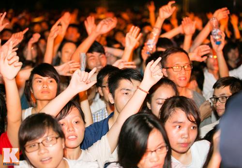 Giới trẻ Hà thành cuồng nhiệt với Festival âm nhạc 2014 - 12