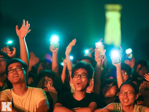 Giới trẻ Hà thành cuồng nhiệt với Festival âm nhạc 2014 - 5