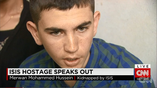 Lời thú nhận gây sốc của một cậu bé bị IS bắt cóc - 2